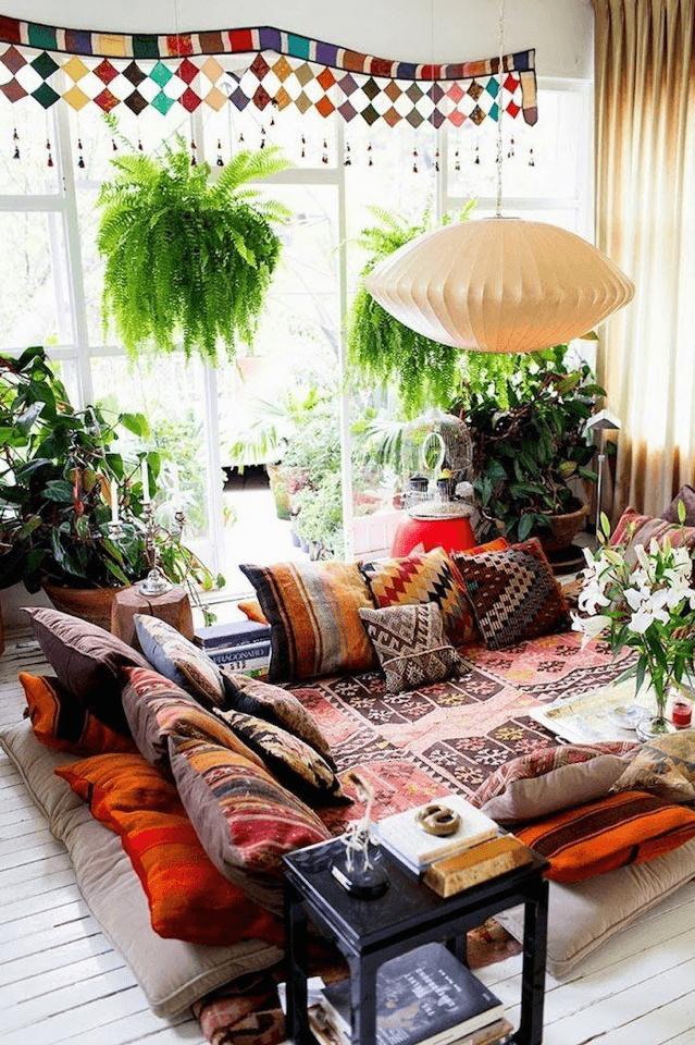 salon berbère Marocain moderne et design