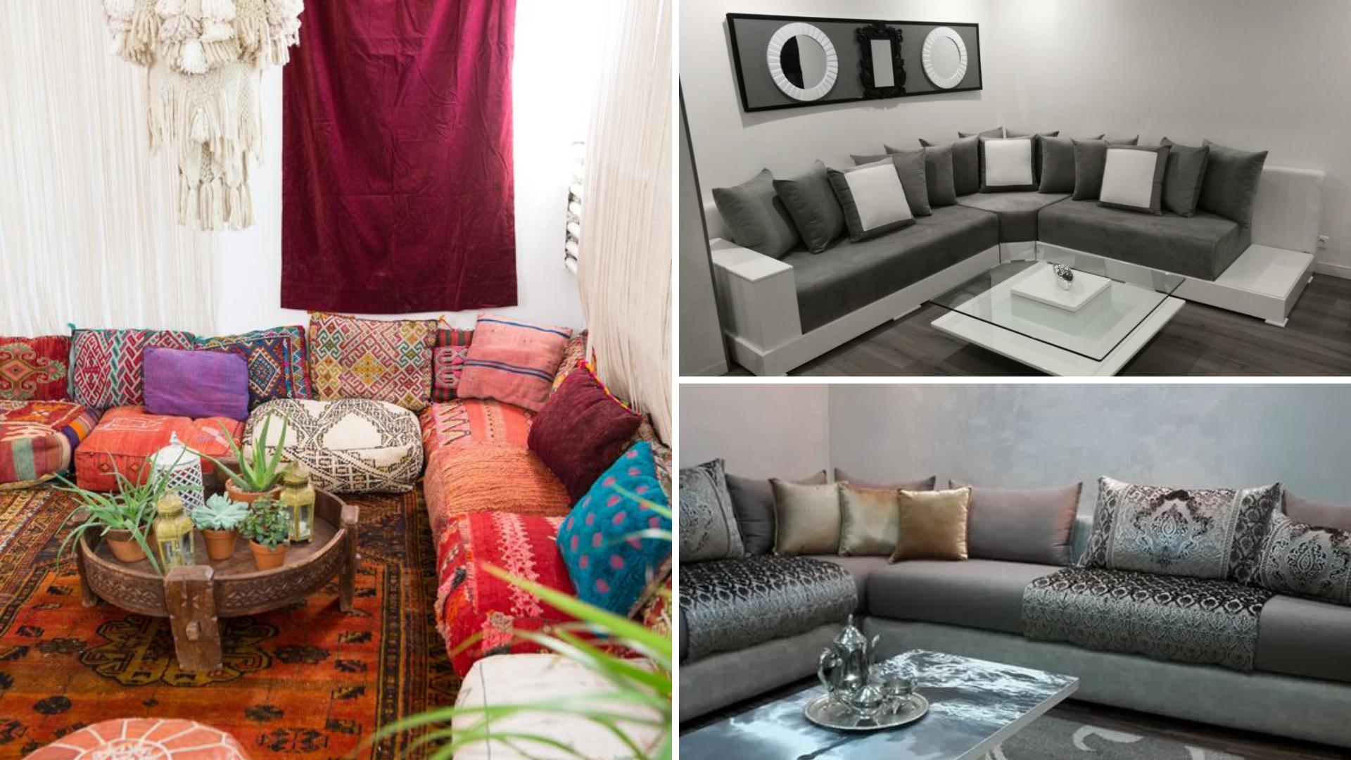 sedari marocain de différents styles