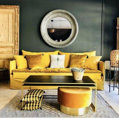 couleur pour salon jaune