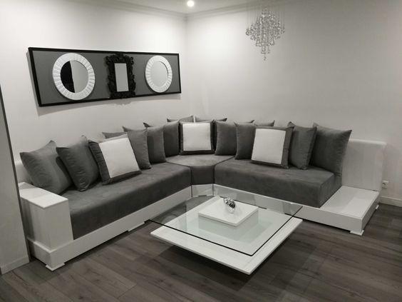 salons marocains modernes minimaliste