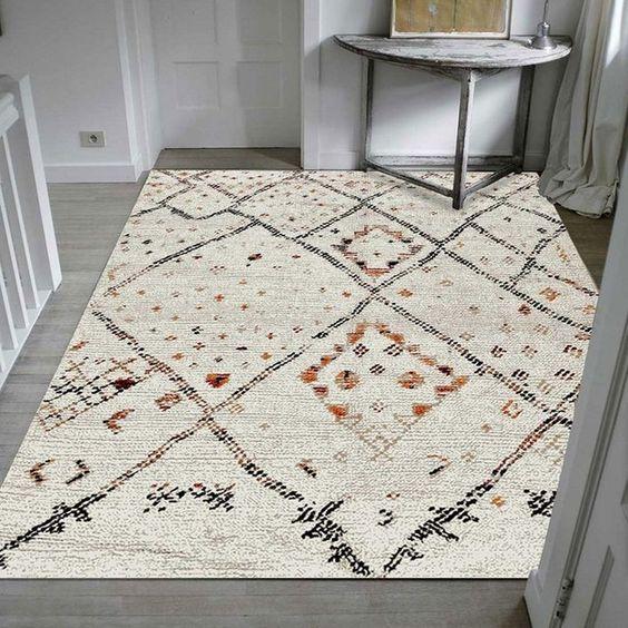 tapis berbère en polyester