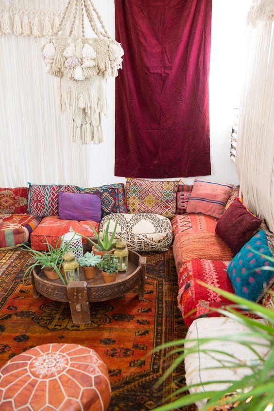 salon oriental moderne berbere