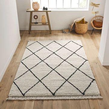 salon oriental moderne tapis berbere