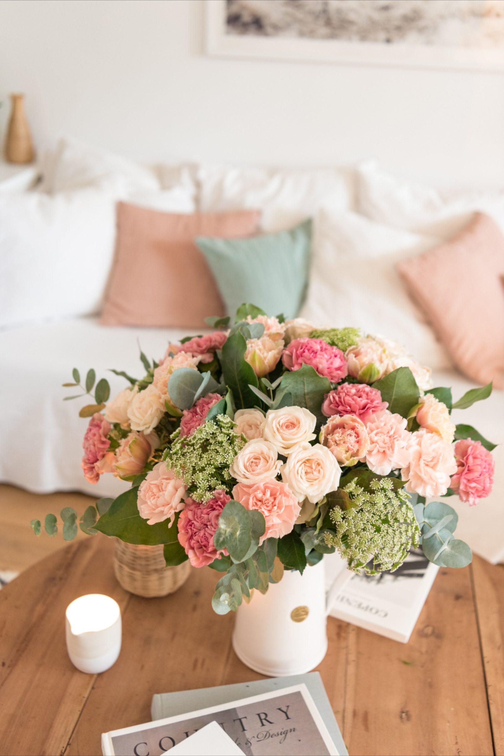 Bouquet de fleurs printemps
