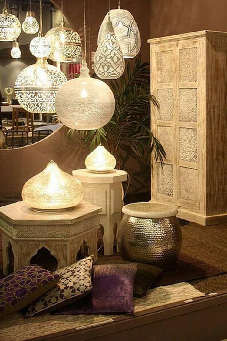 Lampe décoration orientale