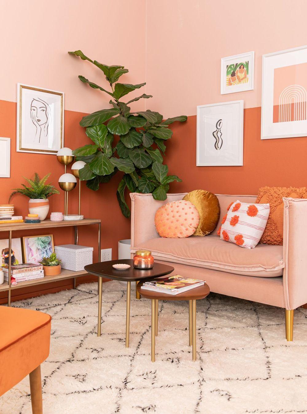 Inviter le printemps dans son salon marocain moderne