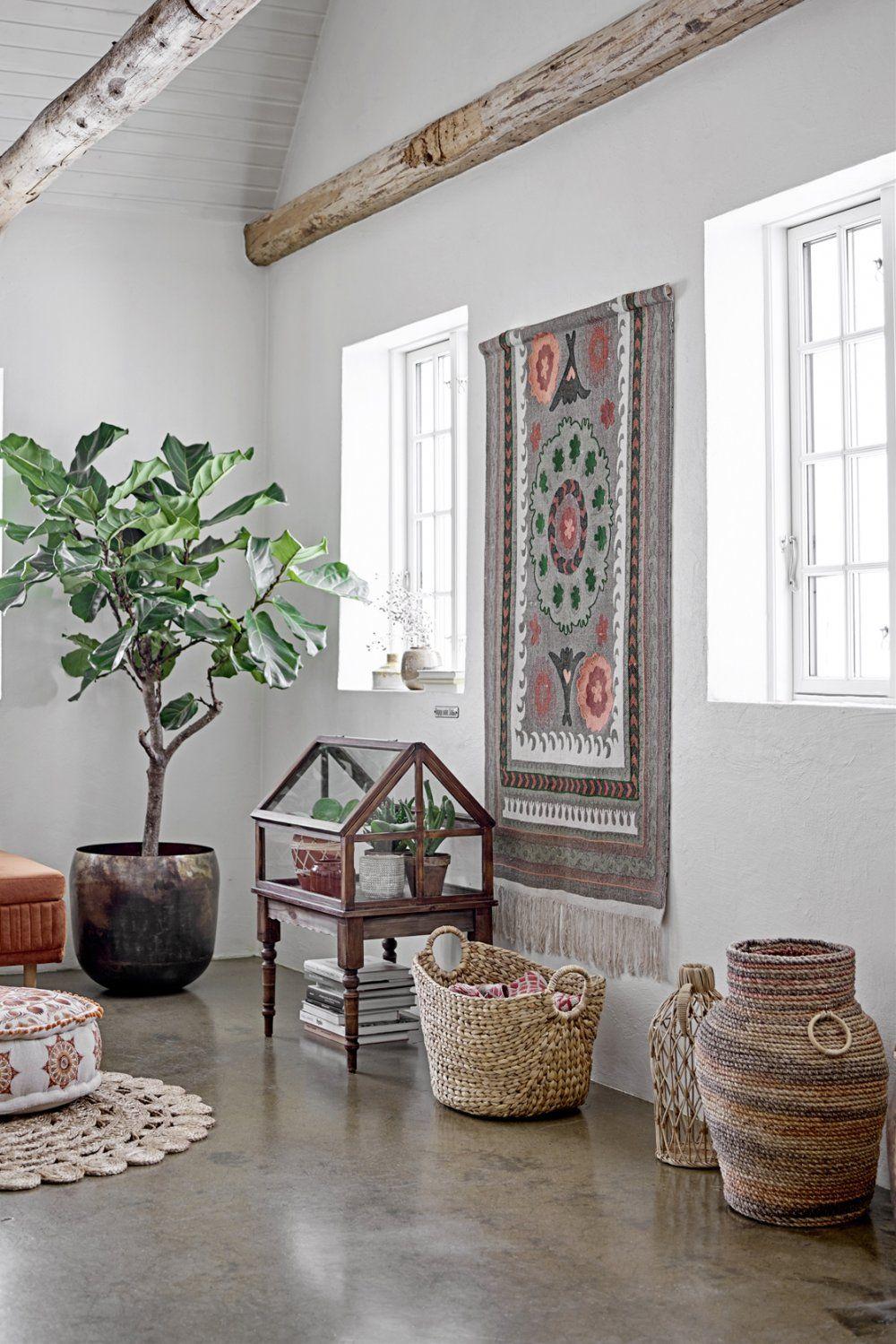 Salon marocain bohème