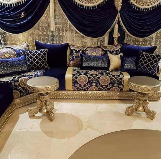 Canapé marocain traditionnel